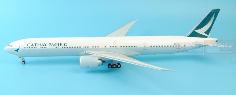 Eagle New: 200017 Cathay Hongkong Pacific B-KPM 1:200 B777-300ER jetliners commercial plane model hobby