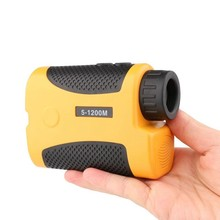 Sale 1200M 6X25 Speed Angle and Height Measuring Telescope Distance aser Measure Meter Laser Rangefinder for Hunting