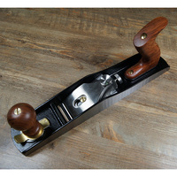 European style iron planing No.5 low angle woodworking stainless steel planer,tools for carving wood