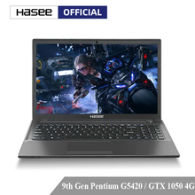 Hasee K670D-G4E6 Laptop for Gaming (Intel 9Gen G5420+GTX1050 4G/8G RAM/256G SSD/15.6'' IPS)Hasee desktop-grade notebook