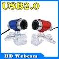2017 New 30 Mega Pixel Web Cam Camera Blue color USB 2.0 Web Cam 30M PC HD Webcam Camera for PC Skype Laptop Notebook
