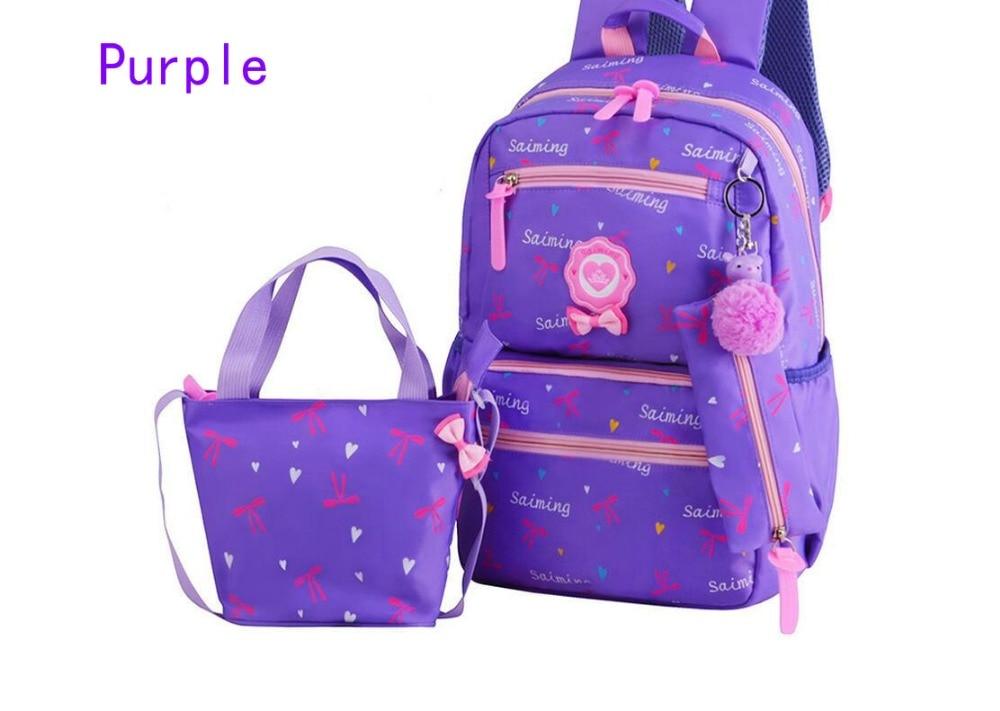 0208990b951f New Fashion Student BookBags Teenager Girls Travel Backpacks Kids ...