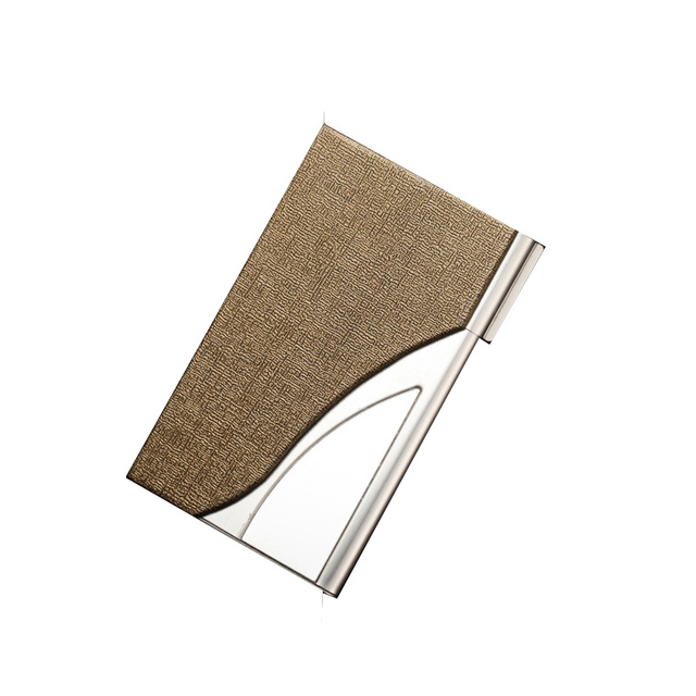 Luxury credit card holder stainless metal name card case travel card luxury credit card holder stainless metal name card case travel card wallet business card cover brand reheart Image collections