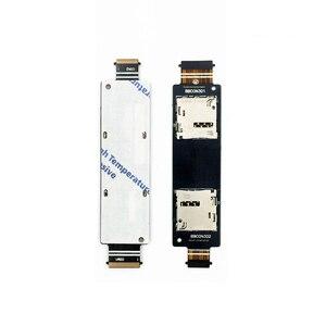 Один/две SIM-карты гибкий кабель для ASUS Zenfone 5 A500CG A501CG T00J A500KL SD кардридер Слот для замены
