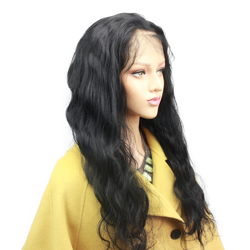 Eseewigs Body Wave Pre Plucked Full Lace Human Hair Wigs for Black Women Glueless Wavy Lace Wigs Baby Hair Around Free Part Remy