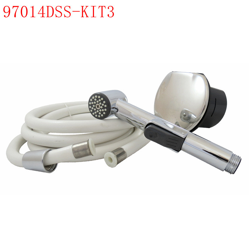 Stainless Steel Transom Shower Kit With 8' Nylon Hose For Marine Boat Yacht RV