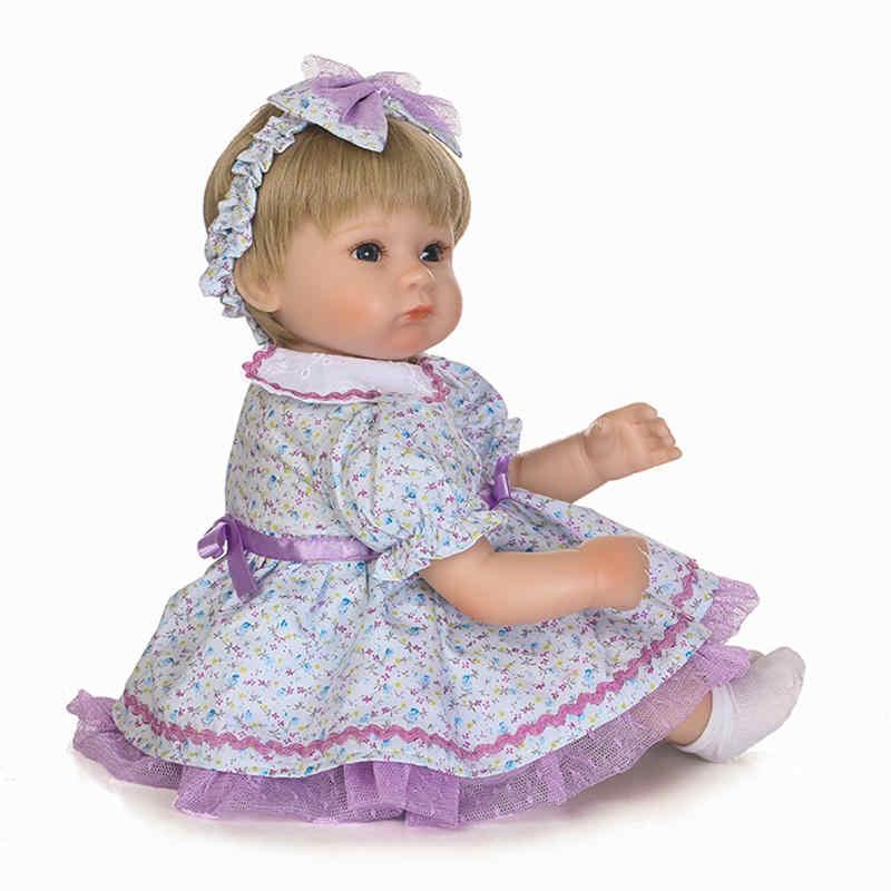 高品質 43 センチメートル 18 インチ NPK 人形素敵な花バンドヘッドと最新の磁気おしゃぶりとして人形アクセサリー