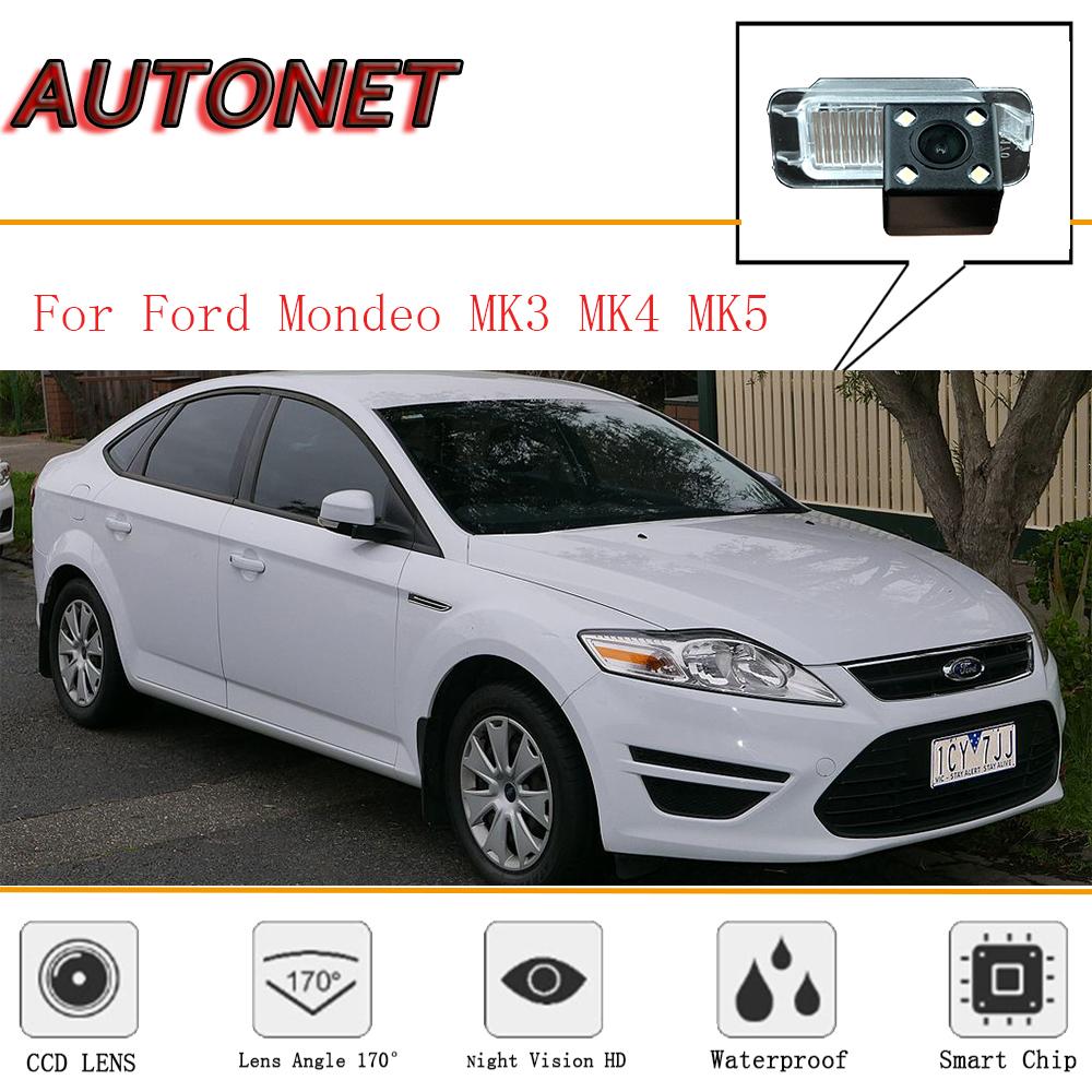 AUTONET rear view camera For Ford Mondeo MK4 MK3 2007~2013/CCD/Night Vision/Reverse Camera/Backup Camera License Plate camera
