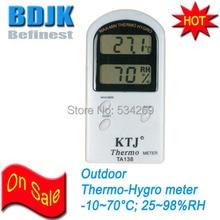Digital Indoor Hygrometer &Thermometer C/F Mode Moisture and Temperature Measurement