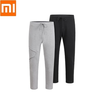 Xiaomi youpin four seasons Multiple bags elastic force Casual trousers Man Breathable soft Comfortable Fitness pants for men