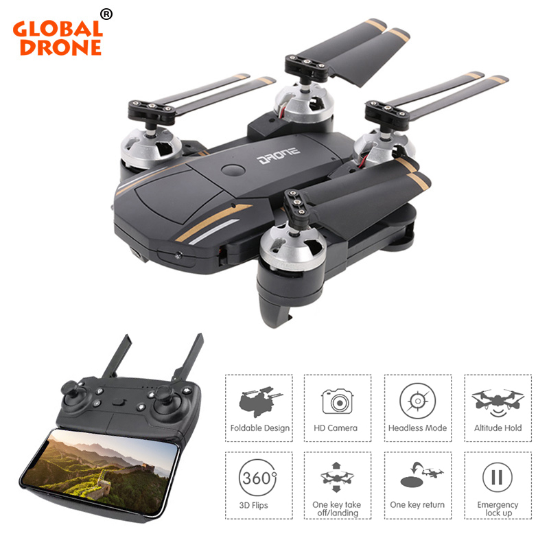 Global Drone Storage-Bag Camera Foldable Quadrocopter E58 Altitude Hold FPV Gw58-Profissional