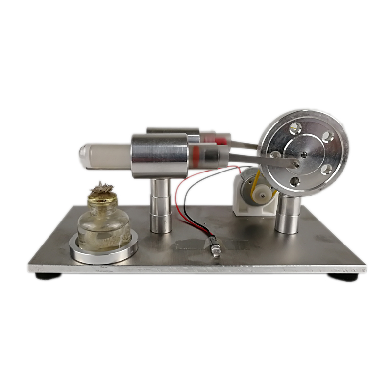 все цены на Mini LED Hot Air Stirling Engine Motor Model Science Education Toy Kit