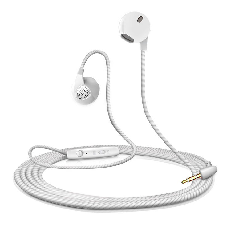Hands Free Sport Earphone Universal 3.5mm Jack Stereo HIFI In-Ear Earbuds Earphone with Microphone for Mobile Phone
