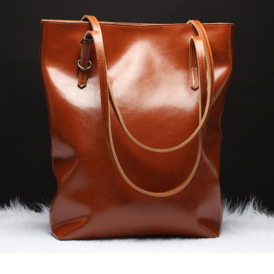 Genuine Leather Fashion Simple Handbag New Women Leather Shoulder Bags Ladies Brand Leisure Messenger Bag Designer High Capacity 100% genuine leather women bags luxury serpentine real leather women handbag new fashion messenger shoulder bag female totes 3