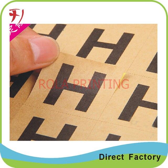 Customized die cut bumper sticker customized paper label cartoon stickers