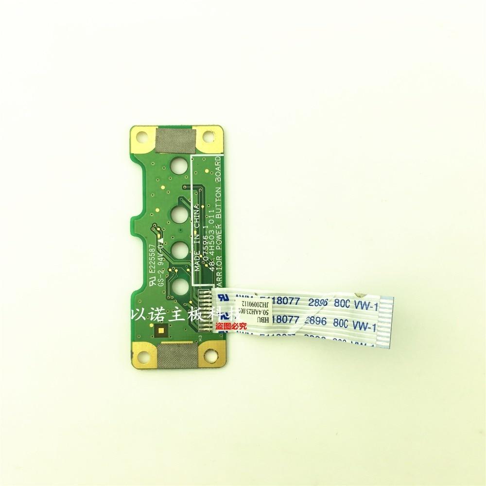 Power Button Board Cable For HP Compaq G70 G60 G50 Presario CQ50 CQ60 CQ70 48.4H503.011 50.4AH23.001 Laptop ON/OFF Flex