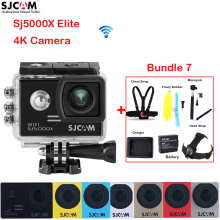100% Original SJCAM SJ5000X Elite 4K 2.0″Screen WiFi NTK96660 30M Waterproof Sports Action Camera Car Mini DVR+Various Accessory