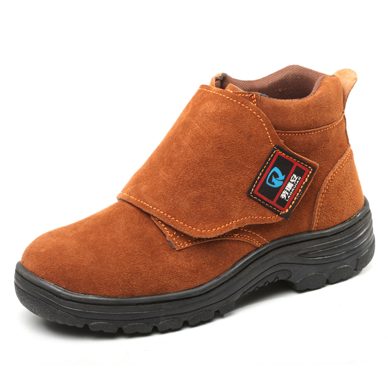 large size men casual steel toe caps working safety shoes anti-pierce platform welder shoe spring autumn ankle security boots