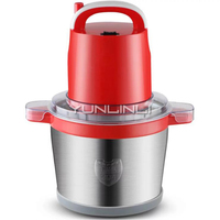 Commercial Electric Meat Grinder 6L Large Capacity Meat/Garlic Shredder Stainless Steel Electric Meat Mincer LG SY6S
