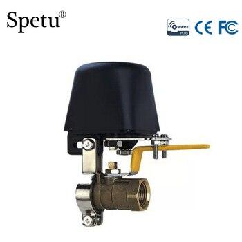Zawór automatyczny Spetu z-wave może współpracować ze wszystkimi urządzeniami Zwave/przełącznik zaworu wody, inteligentny czujnik wycieku gazu Z falą