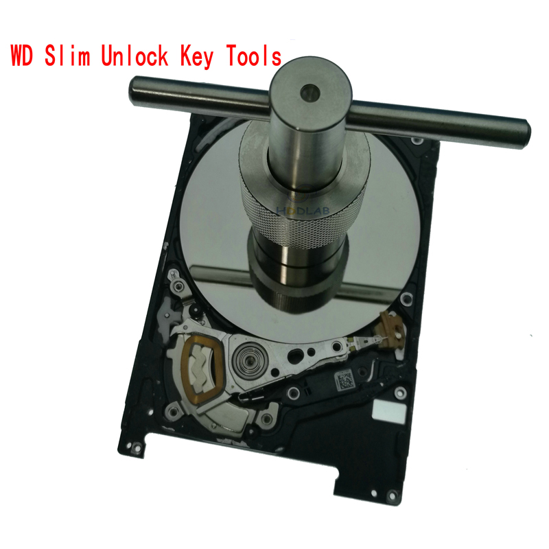 HDD Hard Drive Slim Unlock Key Tools Platter Extraction Data Recovery For West Digital WD 2