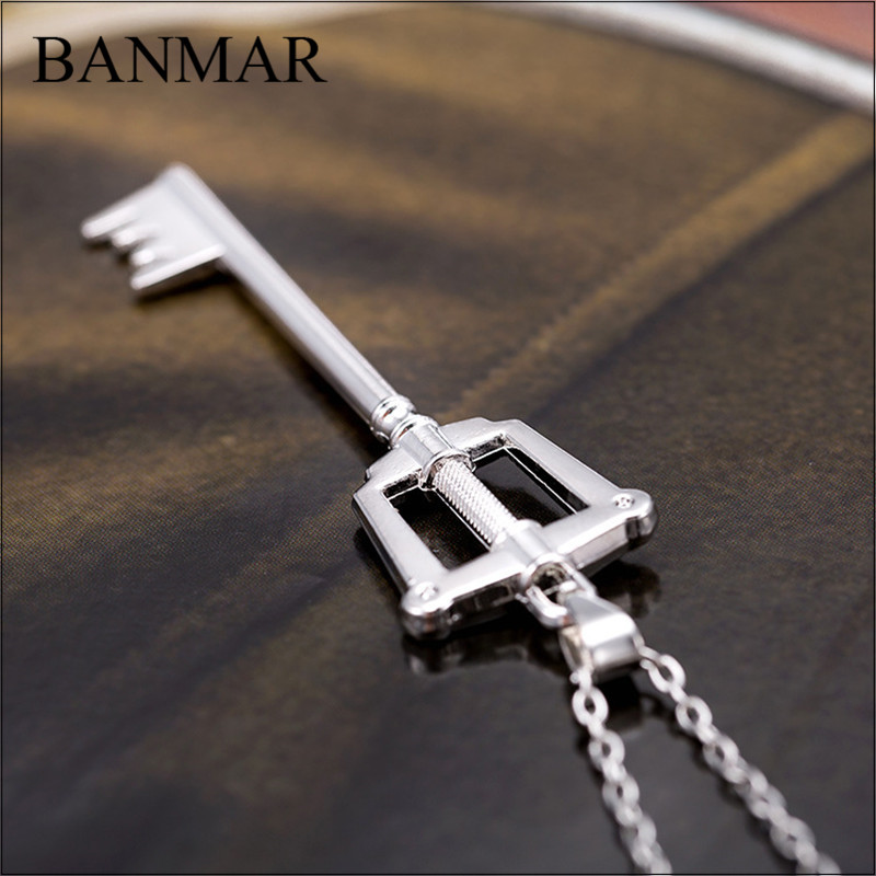 Banmar popular anime kingdom hearts keyblade metal necklace banmar popular anime kingdom hearts keyblade metal necklace pendants game jewelry accessories figure cosplay toy gift in pendant necklaces from jewelry aloadofball Image collections