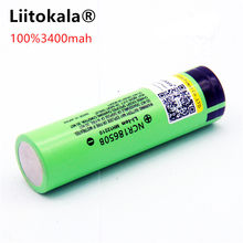 Liitokala новый оригинальный 18650 NCR18650B 3400 мАч перезаряжаемый литий-ионный аккумулятор 3,7 в 3400 батарея