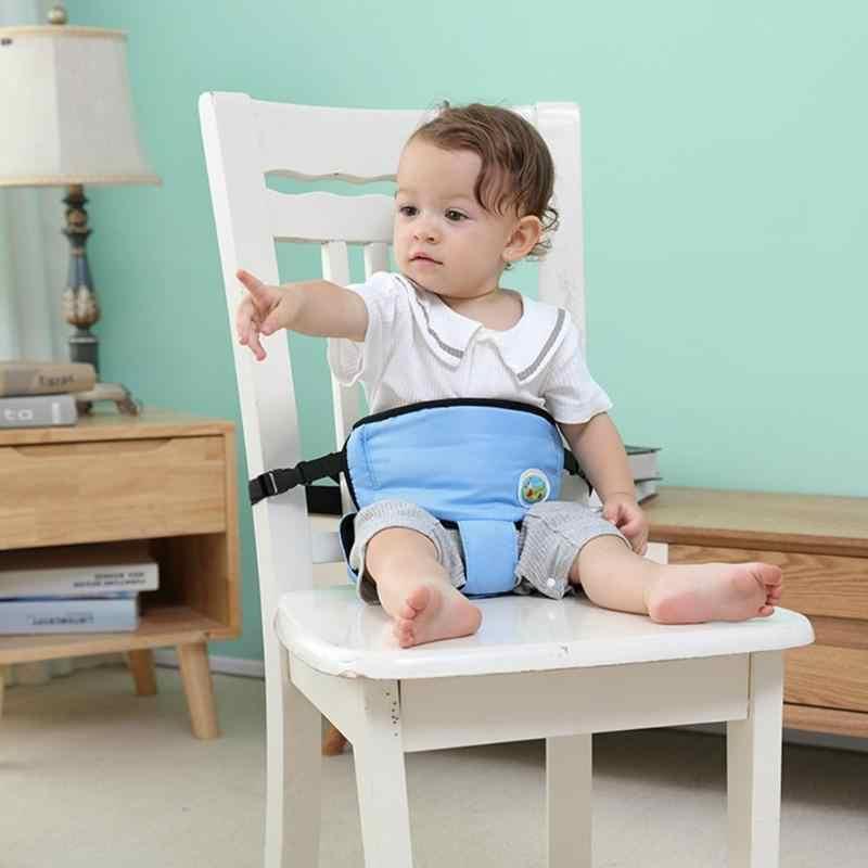 Cinturón de seguridad para silla de bebé cinturón de refuerzo para almuerzo infantil asiento de comedor Protector de arnés para niños que caminan correa de aprendizaje cuidado de 360 grados