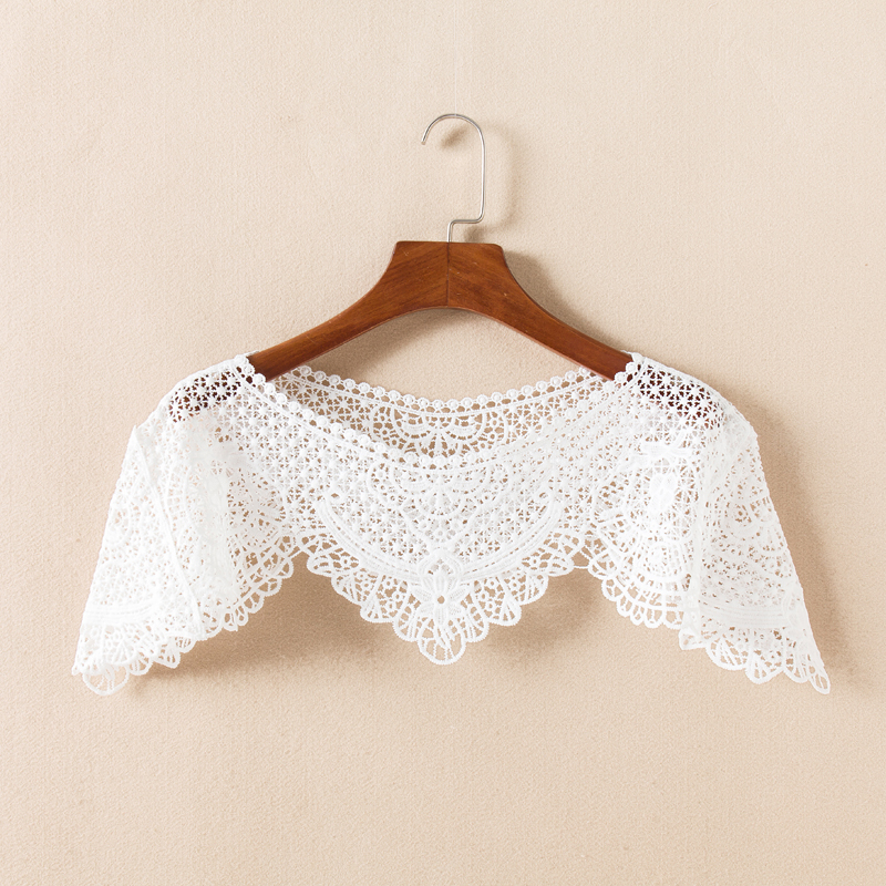 Embroidery Lace Neckline Sewing Fabric Trim DIY Sewing Lace Neckline Collar Double Side Applique Clothing Decoration-in Lace from Home & Garden on Aliexpress.com | Alibaba Group