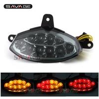 For KTM 200 390 DUKE 2012 2015 13 14 Motorcycle Integrated LED Tail Light Turn signal Blinker Lamp Assembly Smoke