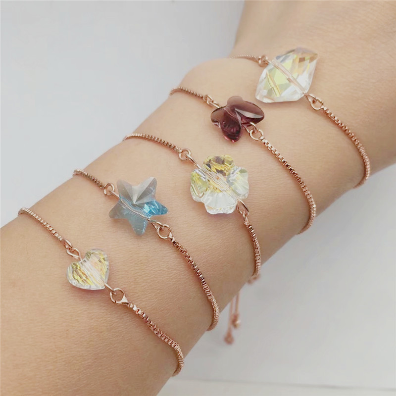 ms betti heart butterfly star clover lucky bracelets for best friends wish bracelet for girls 03