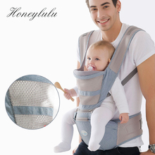 Honeylulu Summer Breathable 2 in 1 Baby Carrier Sling For Newborns Kangaroo Ergoryukzak Backpack Hipseat