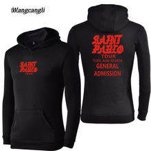 Фотография WANGCANGLI For I FEEL LIKE PABLO New Hot Sale General Admission Hoodies Casual Women/Men Hooded Sweatshirt Streetwear Plus 4xl