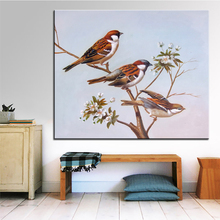 Buy sparrow oil and get free shipping on aliexpress dpartisan wall art digital oil painting print no frame thecheapjerseys Gallery