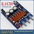 TPA3116 2.1CH Class D 2*50 W+100 W High power Amp Audio Amplifier Board, Free Shipping