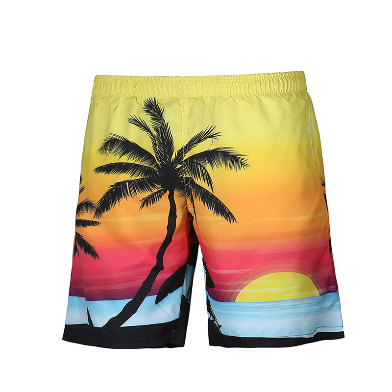 Mens Casual Beach Shorts Fashion Brand Boardshorts Funny Print Scenery Men Short Pants 3d Male Shorts Yet Not Vulgar Men's Clothing