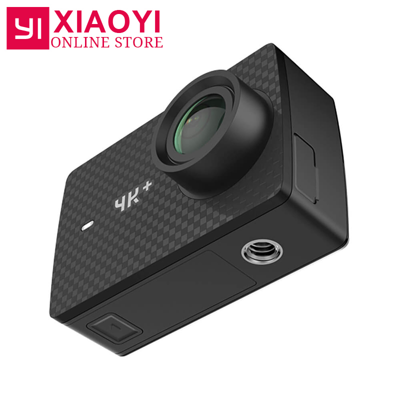 [Édition internationale] YI 4 k Plus Action Caméra 4 k + Sport Action Caméra 155 Degrés 2.19 4 k/60fps Ambarella H2 Puce EIS USB3.0