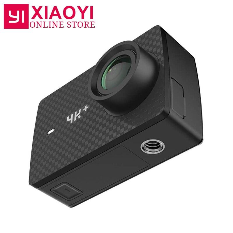 [Международное издание] Yi 4k Plus действие Камера 4 К + Спорт действий Камера 155 градусов 2,19 4 К/60fps Ambarella H2 чип EIS USB3.0