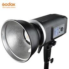 Godox slb60w 60 w 5600 k versão branca tipo à mão ao ar livre portátil led contínuo usando bateria de lítio (montagem bowens)