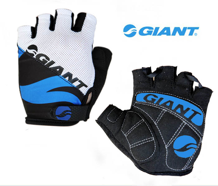 2019 Giant Cycling Anti-slip Anti-sweat Men Women Half Finger Gloves Breathable Anti-shock Sports Gloves MTB Bike Bicycle Glove