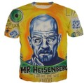 Breaking Bad Printing Abstract Mr Heisenberg Harajuku T-Shirt Women Men Funny Casual Tees Summer Style Tops t shirt Plus Size