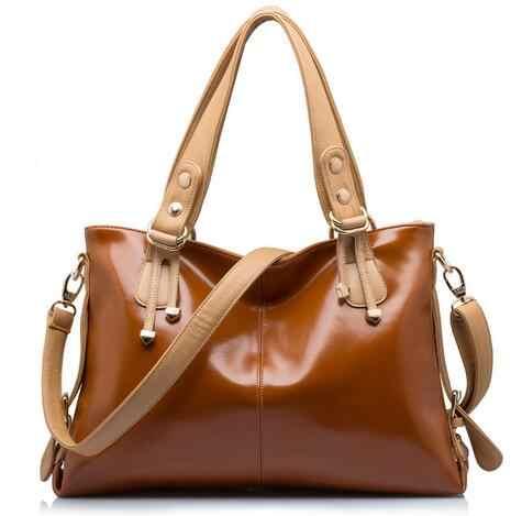 حقائب جلد طبيعي للنساء 2019 حقائب يد ماركة فاخرة حقائب نسائية مصمم رسول حقائب كتف نسائية Bolsa Feminina X12
