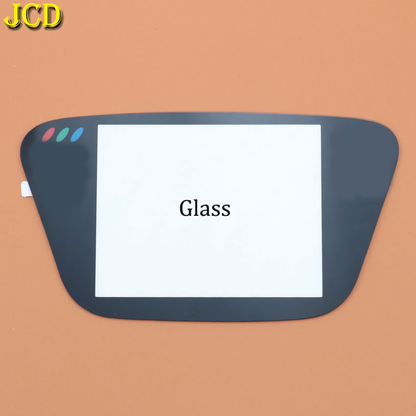 Image 5 - JCD 1PCS Black Glass Screen Lens Protective Cover For Sega Game Gear Replacement Screen Protector GG Lens-in Replacement Parts & Accessories from Consumer Electronics
