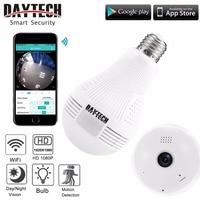 DAYTECH Wireless IP Camera Wifi Home Security Camera HD 1080P Surveillance Camera Night Vision Fisheye Baby