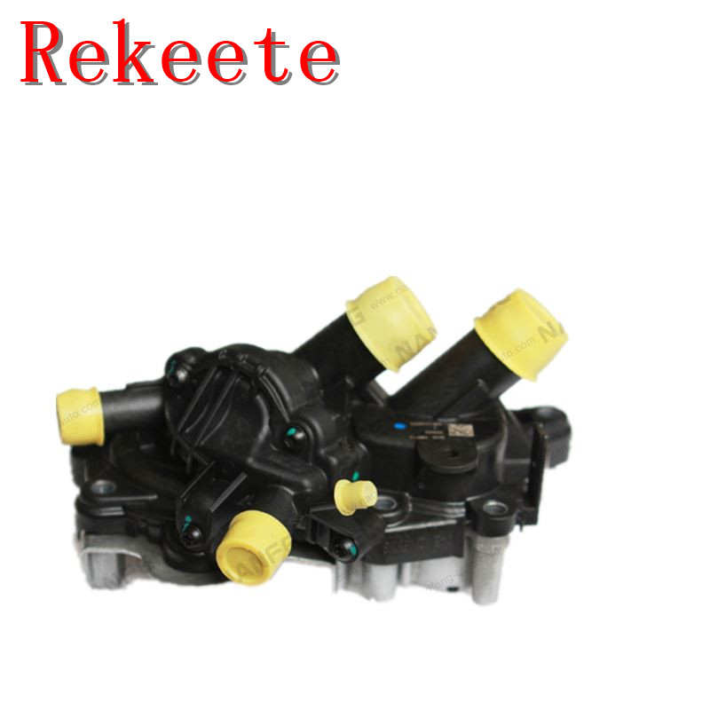 1 pièces Auto système de refroidissement thermostat pour Audi a3 (typ: 8 v) pompe de refroidissement 04E 121 600 S 04E 121 121G 04E 121 042 K 04E 109 111 L