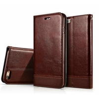Luxury Magnetic Wallet Case For IPhone 6 6S Iphone6 Flip Cover PU Leather Stand Phone Bag