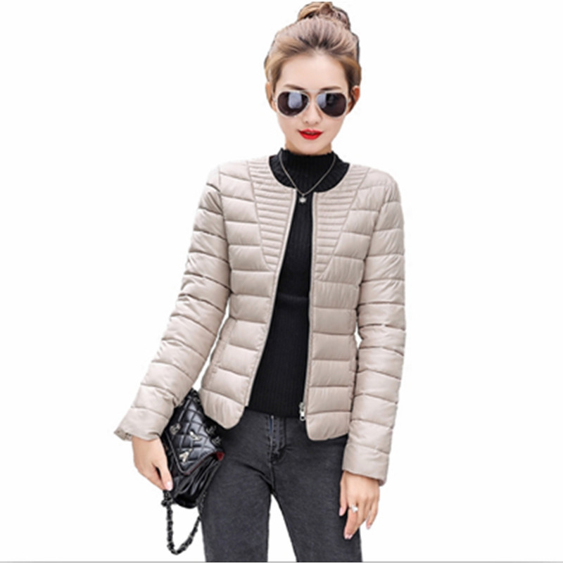 2019 Fashion Ultralight   Parka   Winter Jacket Women Unique Style Women's Jackets Short Warm Thin Winter Coat Women