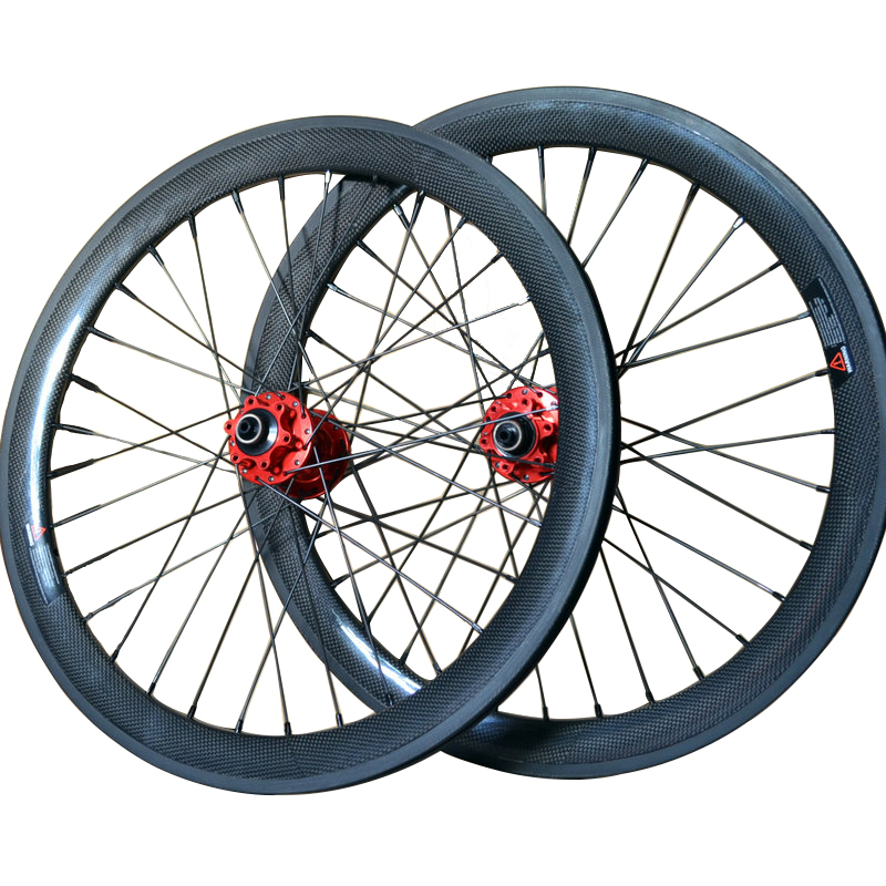 SEMA T700 20 inch 406 carbon wheelset clincher with novatec 711 712 for road bikes pecas para bicicleta hot sale 80816 406