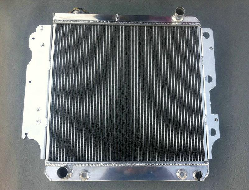 3 ROWS ALUMINUM RADIATOR for 1987-2006 JEEP WRANGLER YJ TJ 2.4 2.5 l4 4.0 4.2 l6