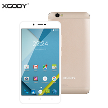 XGODY D16 3G Smartphone 5.5 Inch Android 6.0 Quad Core 1GB RAM 8GB ROM 8MP Dual SIM Unlocked Cell Phones GPS WiFi OTG Telefon